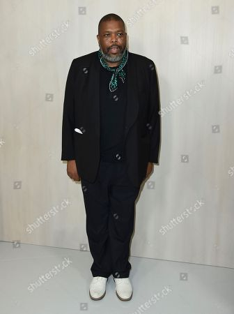 Stock Picture of Hilton Als arrives at the 15th annual Hammer Museum Gala in the Garden, in Los Angeles