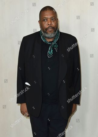 Stock Photo of Hilton Als arrives at the 15th annual Hammer Museum Gala in the Garden, in Los Angeles