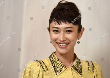 Yu Yamada arrives at the 15th annual Hammer Museum Gala in the Garden, in Los Angeles