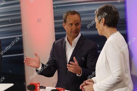 Matthias Strolz and Ulrike Lunacek