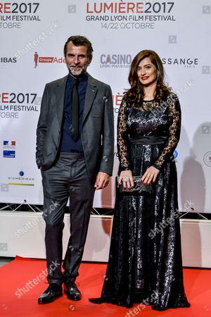 Stock Picture of Marina Golbahari & Eric Lartigau