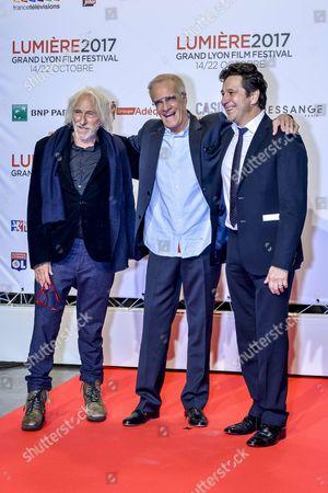 Pierre Richard, Christopher Lambert & Laurent Gerra