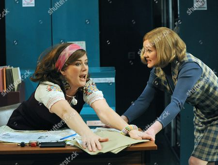 Editorial picture of 'Alphabetical Order' play at the Hampstead Theatre, London, Britain - 20 Apr 2009