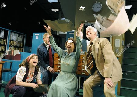 'Alphabetical Order' - Imogen Stubbs (Lucy), Jonathan Guy Lewis (John), Penelope Beaumont (Nora) and Michael Garner (Wally)