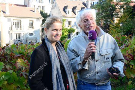 Sarah Biasini, Hugues Aufray