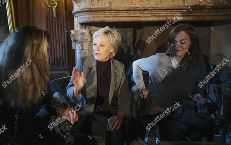 Stock Image of Amanda Foreman, Tina Brown and Helen Caster