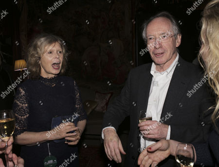 Stock Image of Ian McEwan and his wife Annalena McAfee