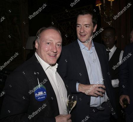 Andrew Roberts and George Osborne