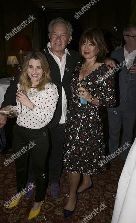 Hallie Rubenhold, Daisy Goodwin and Simon Schama