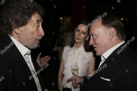 Stock Photo of Howard Jacobson, Andrew Roberts and  Susan Roberts