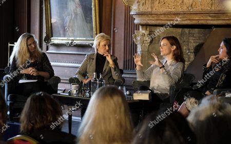 Amanda Foreman, Tina Brown, Helen Caster and Bethany Hughes