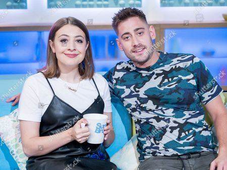 Georgia Groome and Michael Socha