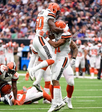 Editorial picture of Browns Texans Football, Houston, USA - 15 Oct 2017