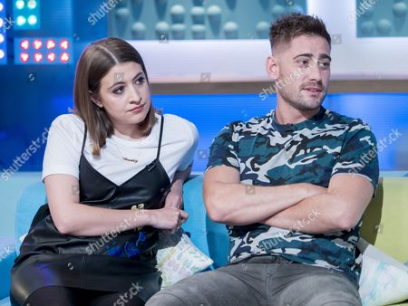 Stock Picture of Georgia Groome and Michael Socha