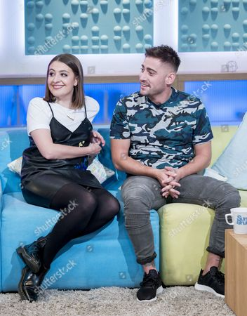 Stock Image of Georgia Groome and Michael Socha