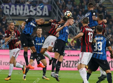 Editorial photo of Soccer Serie A, Milan, Italy - 15 Oct 2017