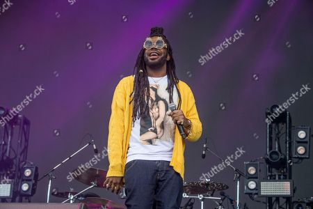 D.R.A.M., Shelley Marshaun Massenburg-Smith. D.R.A.M. performs at the Austin City Limits Music Festival at Zilker Park, in Austin, Texas