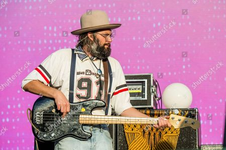 Chris Zasche of The Head and the Heart performs at the Austin City Limits Music Festival at Zilker Park, in Austin, Texas