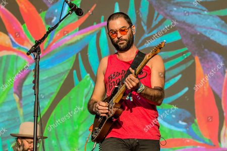 Josiah Johnson of The Head and the Heart performs at the Austin City Limits Music Festival at Zilker Park, in Austin, Texas