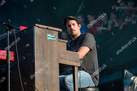 Stock Picture of Kenny Hensley of The Head and the Heart performs at the Austin City Limits Music Festival at Zilker Park, in Austin, Texas
