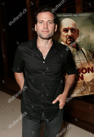 Eion Bailey attends A Common Man Special Advance Screening at Landmark Theaters on in Los Angeles