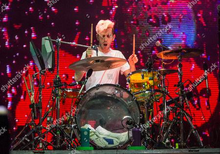 Ryan Rabin of Grouplove performs during the Honda Civic Tour at The Masquerade, in Atlanta