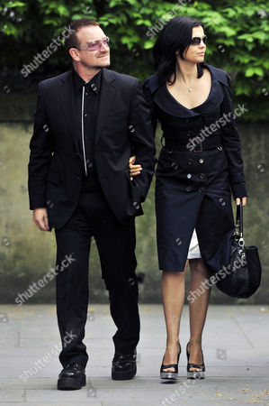 Bono and wife Ali Hewson