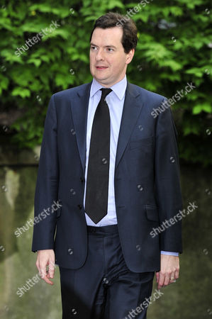 Stock Image of Conservative Party Shadow Chancellor George Osborne