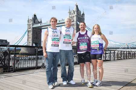 Leon Taylor,Iwan Thomas,Chris Boardman and Gail Emms