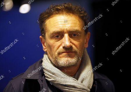 French actor Jean-Paul Rouve attends the heavyweight bout