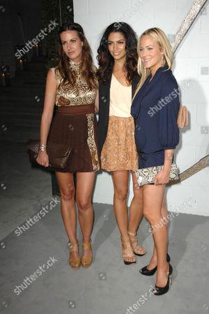 Liz Carey, Camila Alves and guest