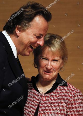 Bert Koenders and Margot Wallstrom