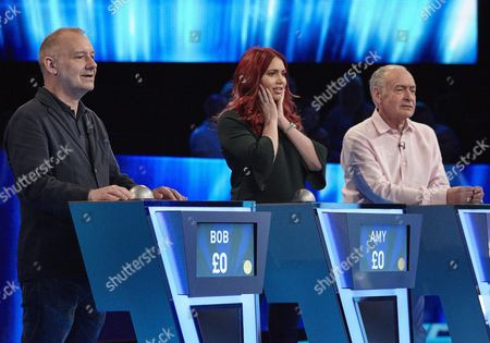 (Sun 29th Oct 2017) - (l-r) Bob Mortimer Amy Childs and Alistair Stewart.