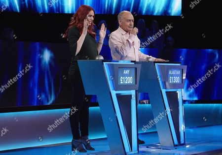 Stock Image of (Sun 29th Oct 2017) - (l-r) Amy Childs and Alistair Stewart.