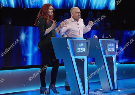 Stock Photo of (Sun 29th Oct 2017) - (l-r) Amy Childs and Alistair Stewart.
