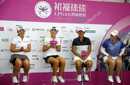 Stock Photo of Sei Young Kim, Lydia Ko, Yani Tseng and Brittany Lincicome