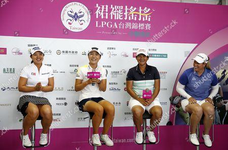 Editorial image of LPGA Championship in Taiwan, Taipei - 16 Oct 2017