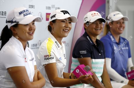 Editorial picture of LPGA Championship in Taiwan, Taipei - 16 Oct 2017
