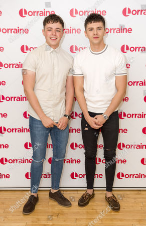 Editorial picture of 'Lorraine' TV show, London, UK - 16 Oct 2017