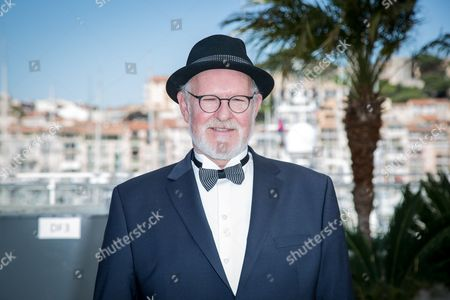 Theodor Juliusson poses for photographers during the photo call of the film Hrutar (Rams) at the 68th international film festival, Cannes, southern France
