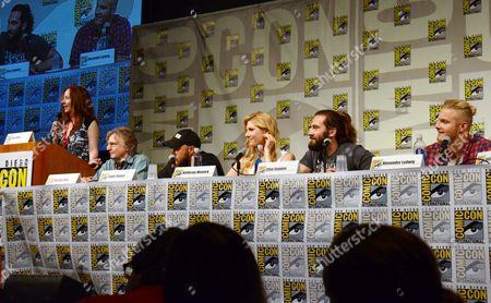 "Editorial image of 2014 Comic-Con - ""Vikings"" Panel, San Diego, USA"