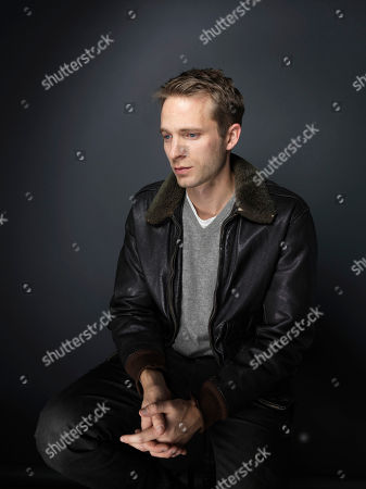 """David Call poses for a portrait to promote the film, """"James White"""", at the Eddie Bauer Adventure House during the Sundance Film Festival, in Park City, Utah"""