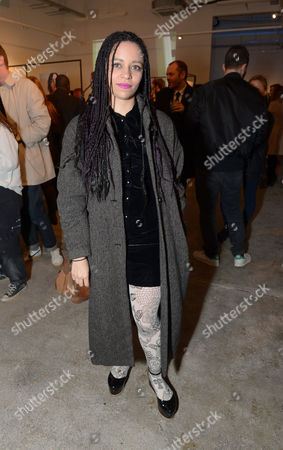 Tahita Bulmer attends the Centrefold Magazine and Nokia Private view in London on Thursday, March. 20th, 2014