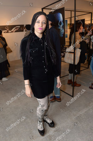 Stock Picture of Tahita Bulmer attends the Centrefold Magazine and Nokia Private view in London on Thursday, March. 20th, 2014