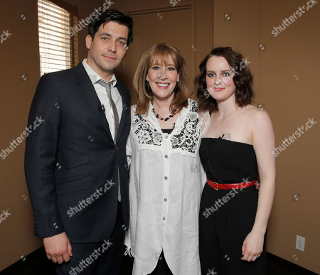 """Robert James-Collier, Phyllis Logan and Sophie McShera attend An Afternoon with """"Downton Abbey"""" presented by the Television Academy at Paramount Studios, in Hollywood, Calif"""