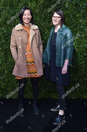 Editorial photo of Through Her Lens: The Tribeca Chanel Women's Filmmaker Program Luncheon, Arrivals, New York, USA - 17 Oct 2017