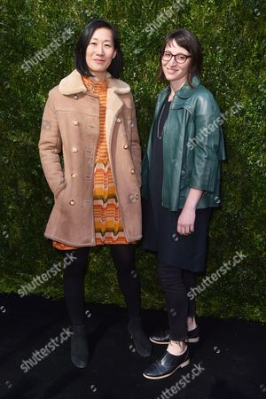 Editorial picture of Through Her Lens: The Tribeca Chanel Women's Filmmaker Program Luncheon, Arrivals, New York, USA - 17 Oct 2017