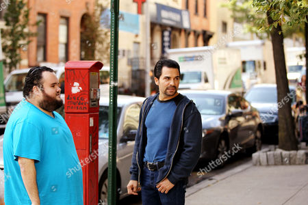 Editorial image of 'Big Dogs' on set filming, New York, USA - 12 Oct 2017