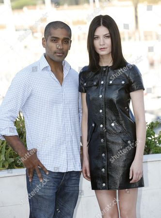 Alexander Karim and Malin Buska
