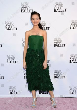 NYCB principal dancer and choreographer Lauren Lovette attends the New York City Ballet's Fall Fashion Gala at the David H. Koch Theater, in New York